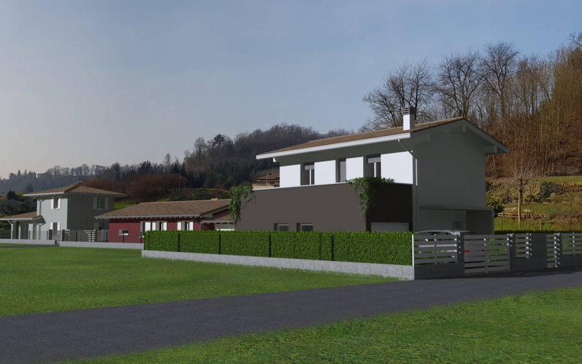 Grande villa singola prossima realizzazione